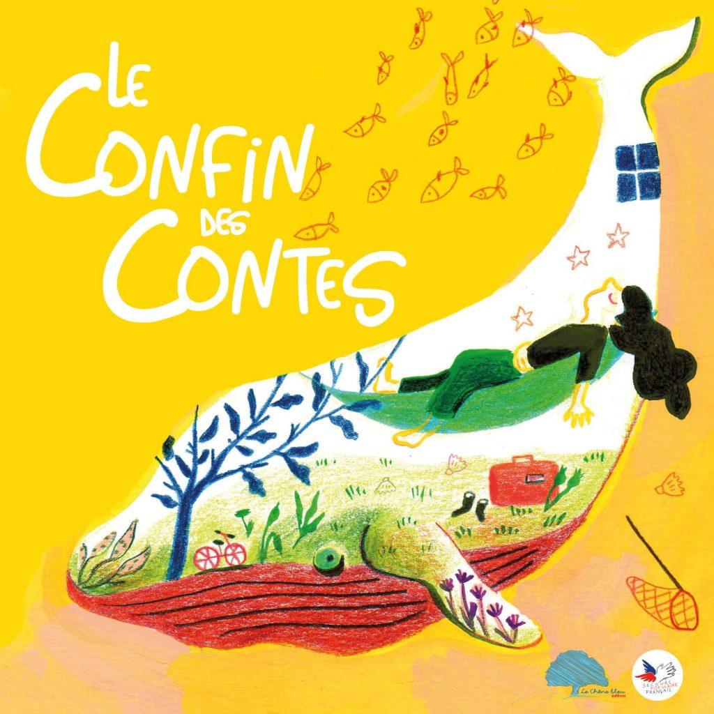 La couverture du Confin des contes livre