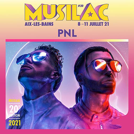 PNL à Musilac en 2021