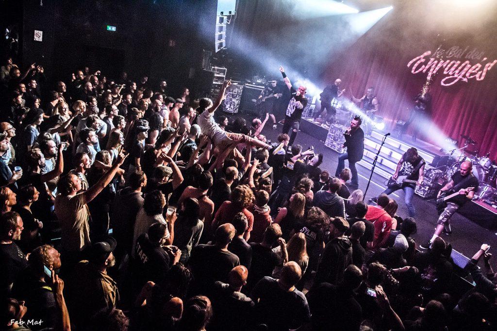 Salles de concerts. Le bal des Enragés au Moulin de Brainans