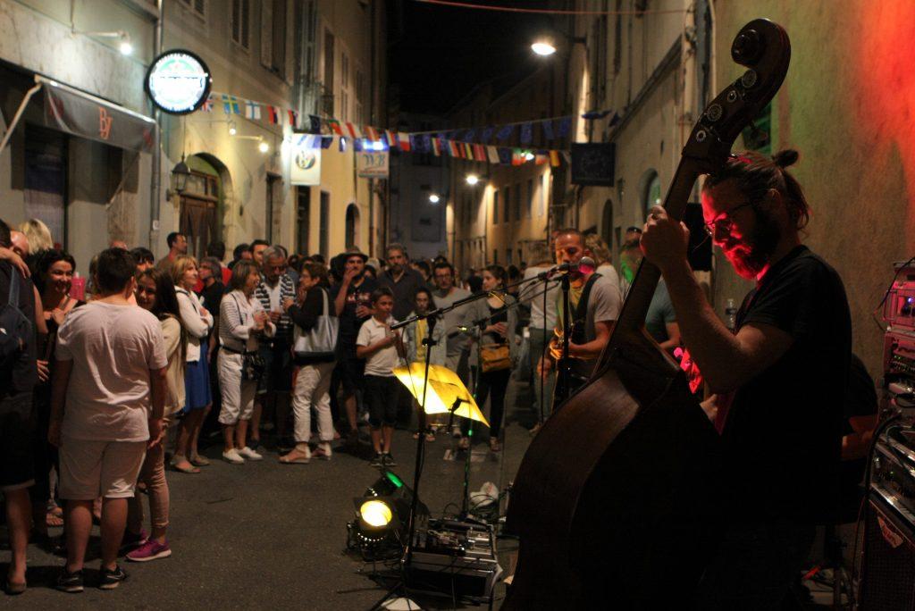Fête de la musique 2017. Rue de la République.