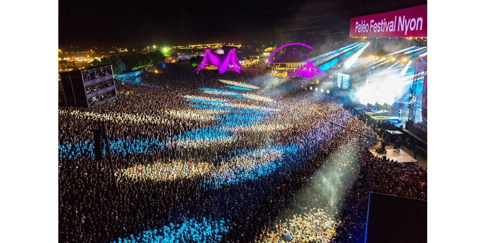 Festivals 2021. Paléo